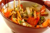 白菜のサッパリゴマ酢和えの作り方2