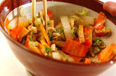 白菜のサッパリゴマ酢和えの作り方6