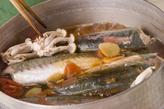 アジのさっぱり梅煮の作り方3