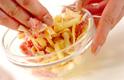 クリームソースチーズハンバーグの作り方2