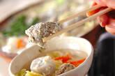 豆乳ゴマみそ鍋の作り方4