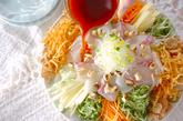 お魚のサラダの作り方2
