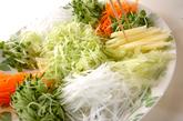 お魚のサラダの作り方1