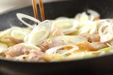 鶏と油揚げの炒め煮の作り方2