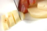 ジャガイモのチーズ炒めの下準備1