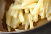 ジャガイモのチーズ炒めの作り方1