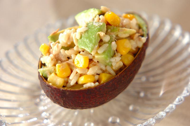 3. アボカドのライスサラダ
