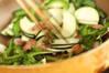 ゴーヤとトウモロコシの炒めものの作り方の手順2