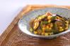 ゴーヤとトウモロコシの炒めものの作り方の手順