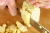 ゴーヤとトウモロコシの炒めものの作り方1