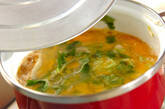鶏ひき肉の親子丼の作り方8