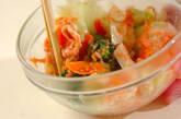 キャベツのタラコマヨサラダの作り方7