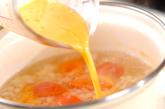 トマトのかきたま汁の作り方3