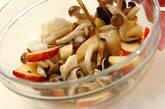 キノコの長芋和えの作り方8