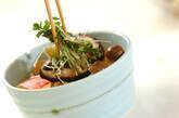 キノコの長芋和えの作り方9