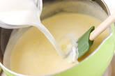 柔らかミルクプリンの作り方5