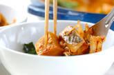 高野豆腐のチゲ風の作り方8