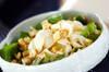 ホウレン草とユリネのサラダの作り方の手順
