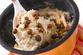 むかごご飯の作り方2
