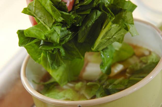 牛肉入り野菜スープの作り方の手順6