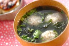 レンコン団子汁
