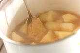 ジャガイモのゴマ煮の作り方2