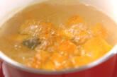 カボチャのみそ汁の作り方4