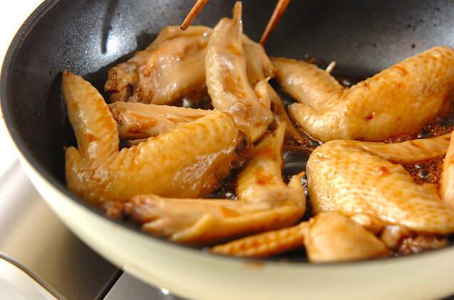 鶏のリンゴ酢煮の作り方の手順3