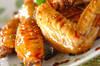 鶏のリンゴ酢煮の作り方の手順