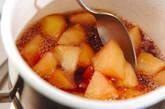 赤ワイン煮リンゴゼリーの作り方4
