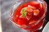 赤ワイン煮リンゴゼリー