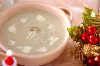 キノコのスープ
