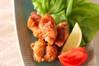 鶏の唐揚げの作り方の手順