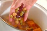 カボチャと豆の甘煮の作り方5