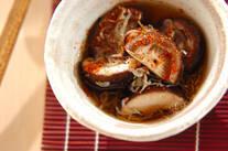 シイタケとジャコのサッと煮