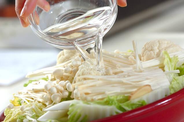 簡単ダイエット鍋の作り方の手順3