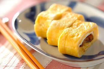 サンマ缶入り卵焼き