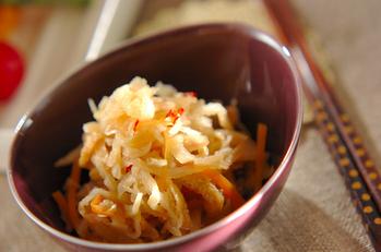 切干し大根のピリ辛煮