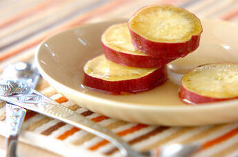 サツマイモの簡単グラッセ