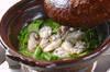 ポン酢でいただく 白菜たっぷりカキの味わい鍋の作り方の手順10