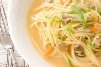 アサリのスープスパゲティ
