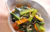 小松菜のジャコ煮の作り方の手順