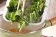 小松菜のジャコ煮の作り方2