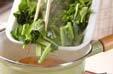 小松菜のジャコ煮の作り方4