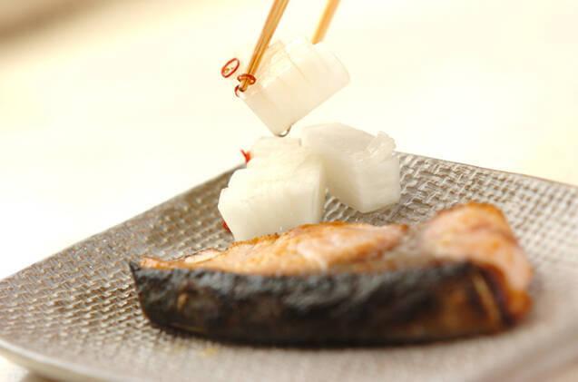 ブリの塩焼きの作り方の手順5