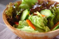 柑橘系ドレッシングサラダ