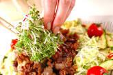 お肉のサラダの作り方7