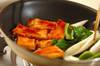 厚揚げの甘辛漬け焼きの作り方の手順3
