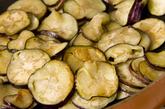 ナスとひき肉の重ね焼の作り方1