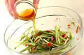 めかぶのゴマ油和えの作り方4